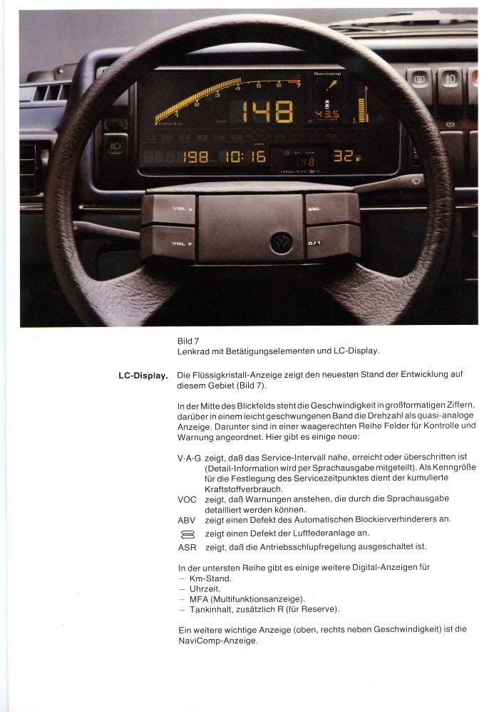 anzeige auto display