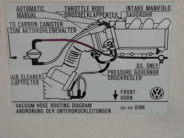 vw cabriolet vacuum diagram  vw  free engine image for